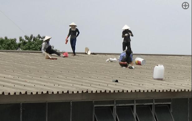 Thợ chống dột mái tôn tại quận 6