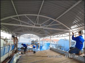 Thay lợp mái tôn tại tphcm – Mái ngói nhà Phố