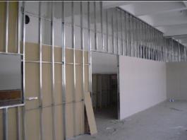 Làm tường thạch cao giá rẻ tại tphcm