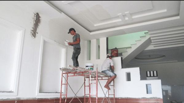 Dịch vụ sơn nhà tại quận 11