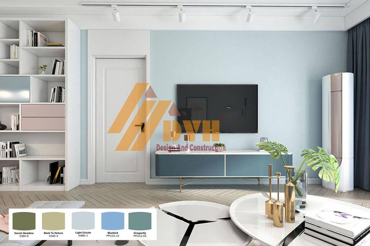 Tư vấn màu sơn đẹp nhất phù hợp với ngôi nhà của bạn