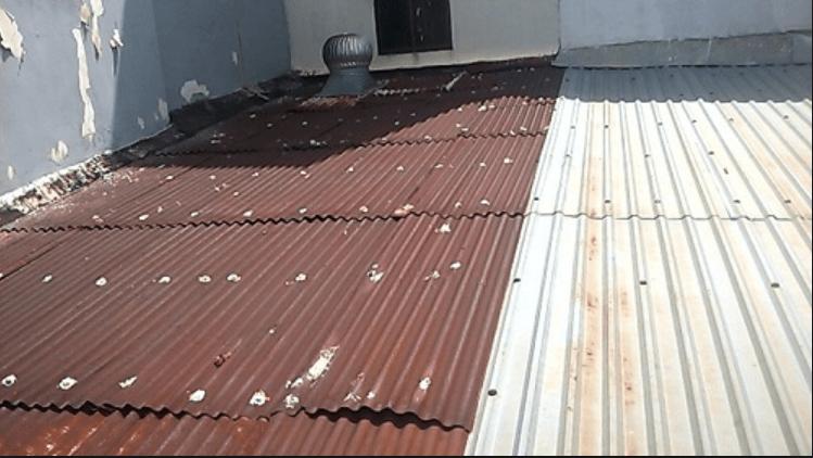 Sửa mái tôn tại quận 2
