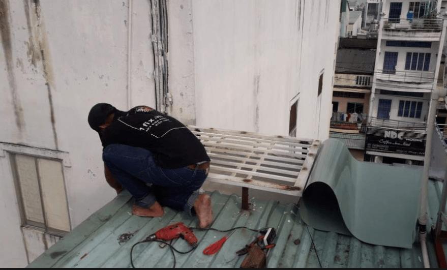 Thợ sửa mái tôn tại quận 2 – chống thấm dột giá rẻ