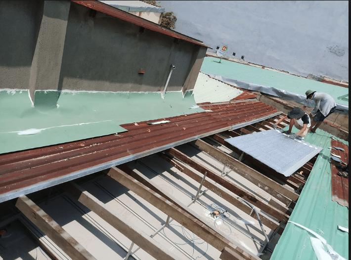 Thợ sửa mái tôn tại quận gò vấp
