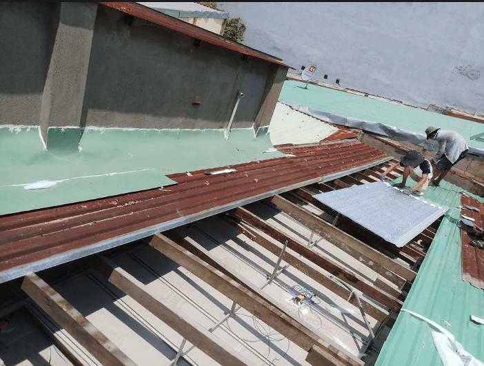 Thợ sửa mái tôn tại quận tân phú