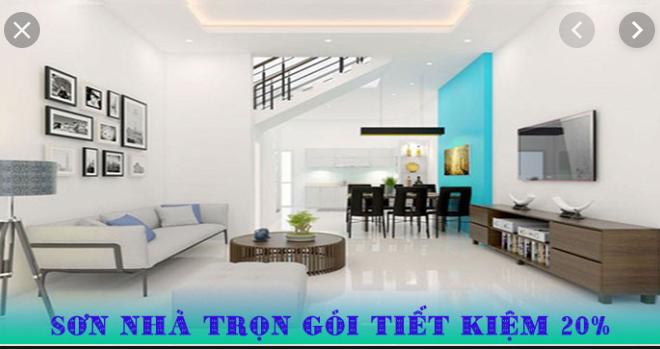 Dịch vụ sơn nhà đẹp tại quận 6 liên hệ O975969608