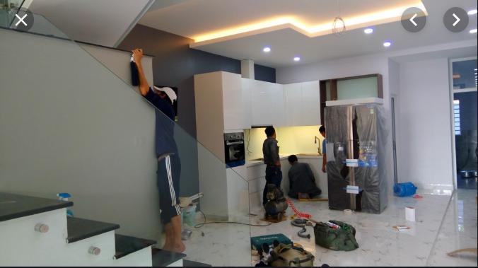 Dịch vụ sơn nhà đẹp tại quận 8