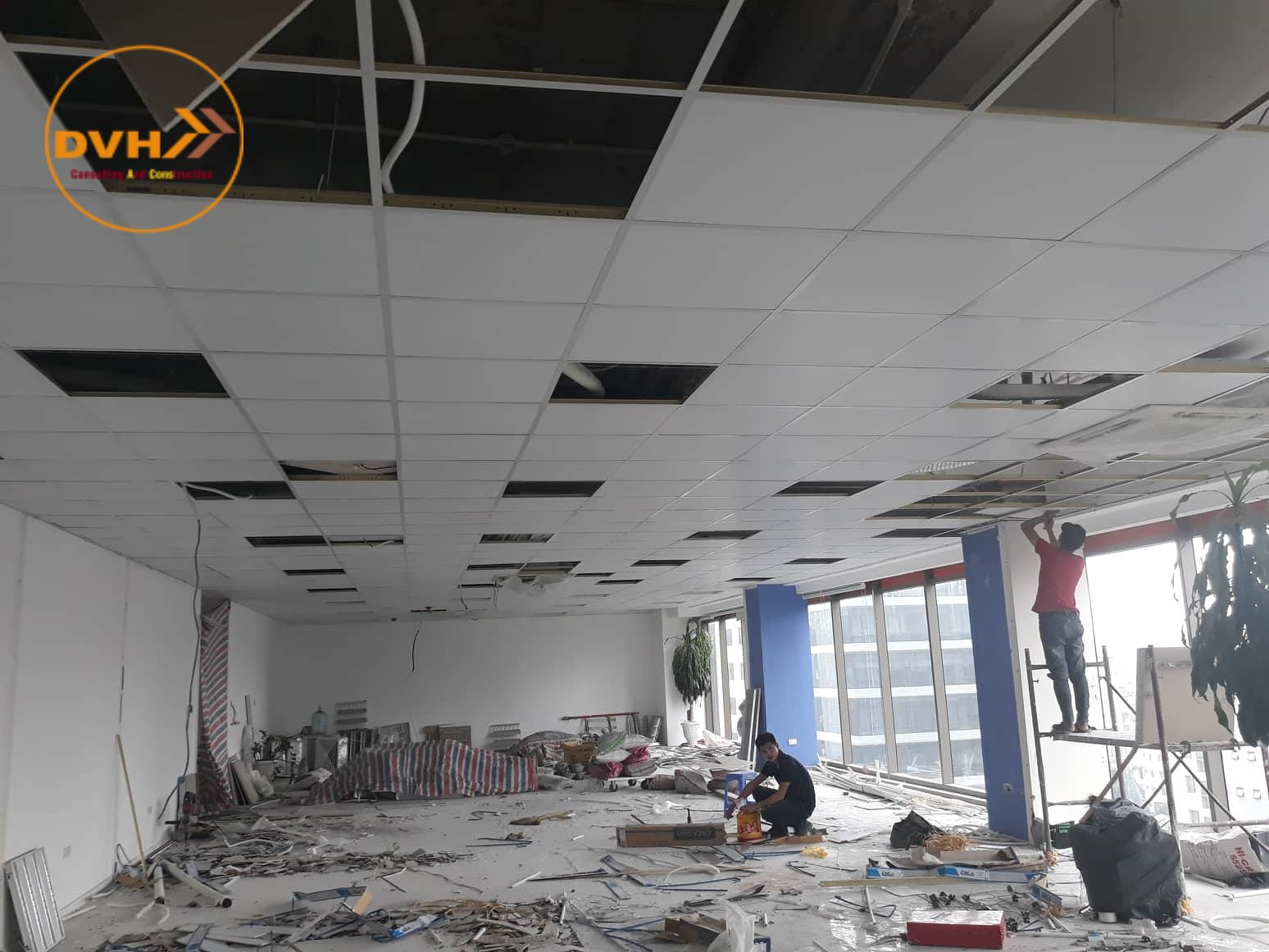 Dịch vụ sửa chữa văn phòng tại quận 12