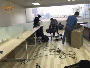 Thiết kế thi công lắp đặt bàn ghế văn phòng
