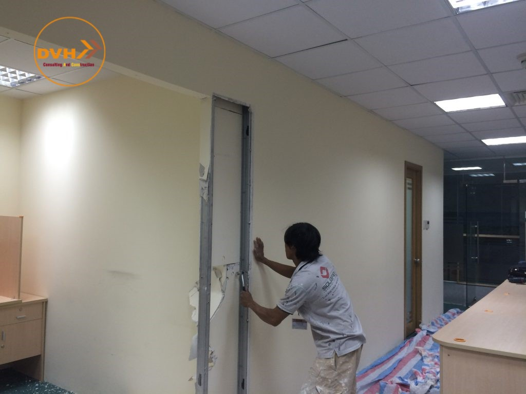 Dịch vụ sửa chữa văn phòng tại quận phú nhuận