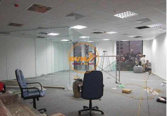Lắp đặt vách ngăn văn phòng tối ưu không gian làm việc