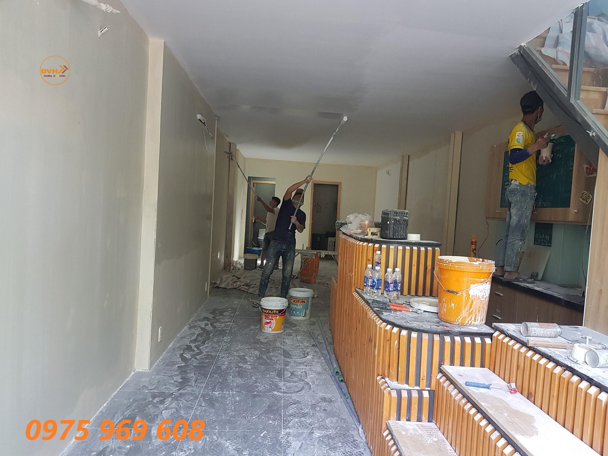 Dịch vụ tư vấn sơn nhà phong thuỷ, đội ngũ sơn nhà chuyên nghiệp chất lượng số 1 tại tphcm