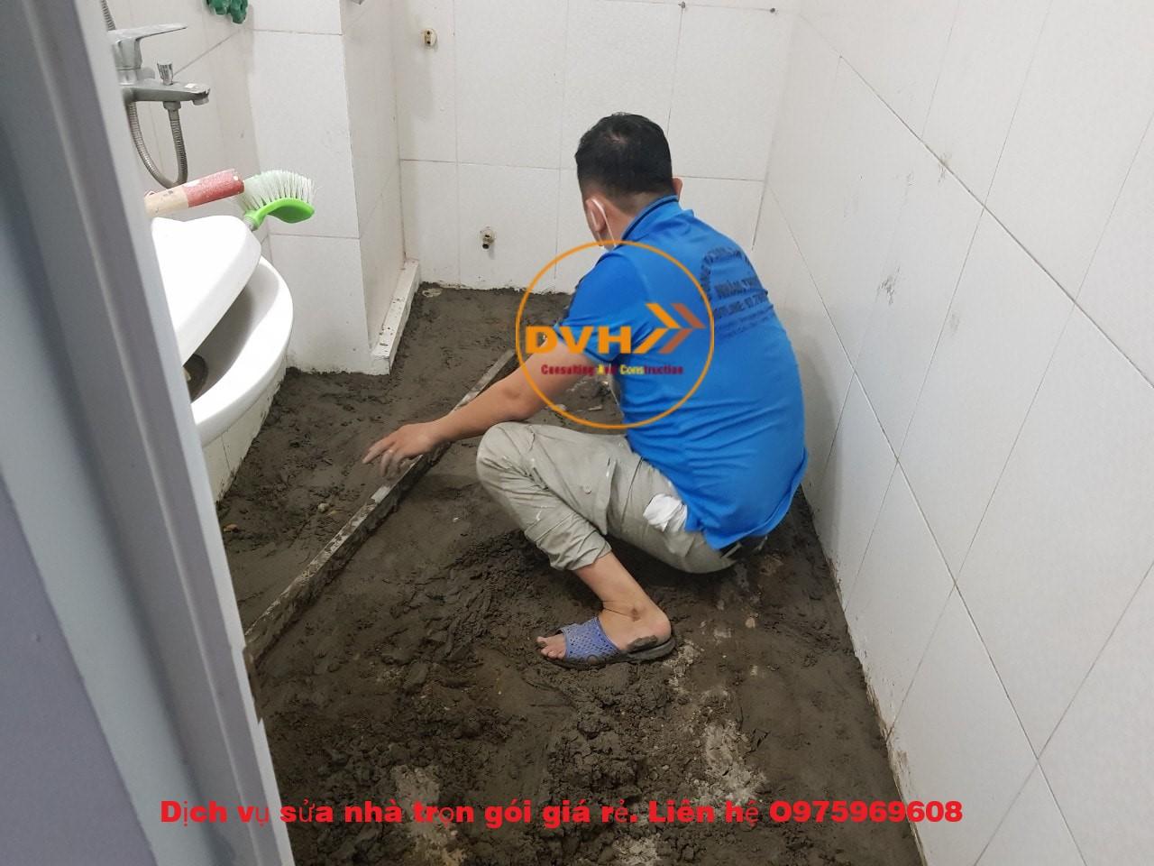 Dịch vụ sửa chữa, chống thấm nhà vệ sinh, thi công chuyên nghiệp, bảo hành dài lâu