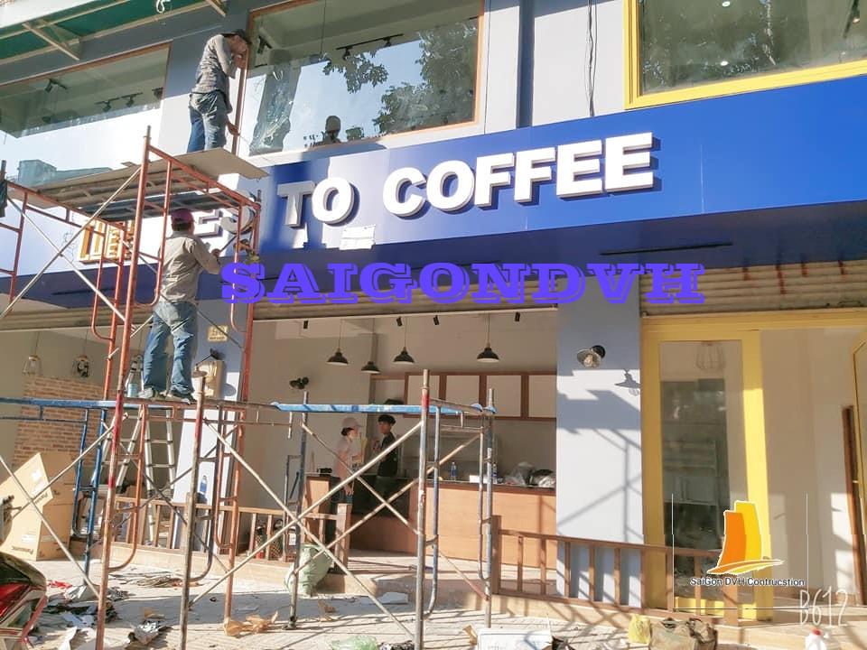 Dịch vụ sửa chữa thiết kế quán cafe chuyên nghiệp