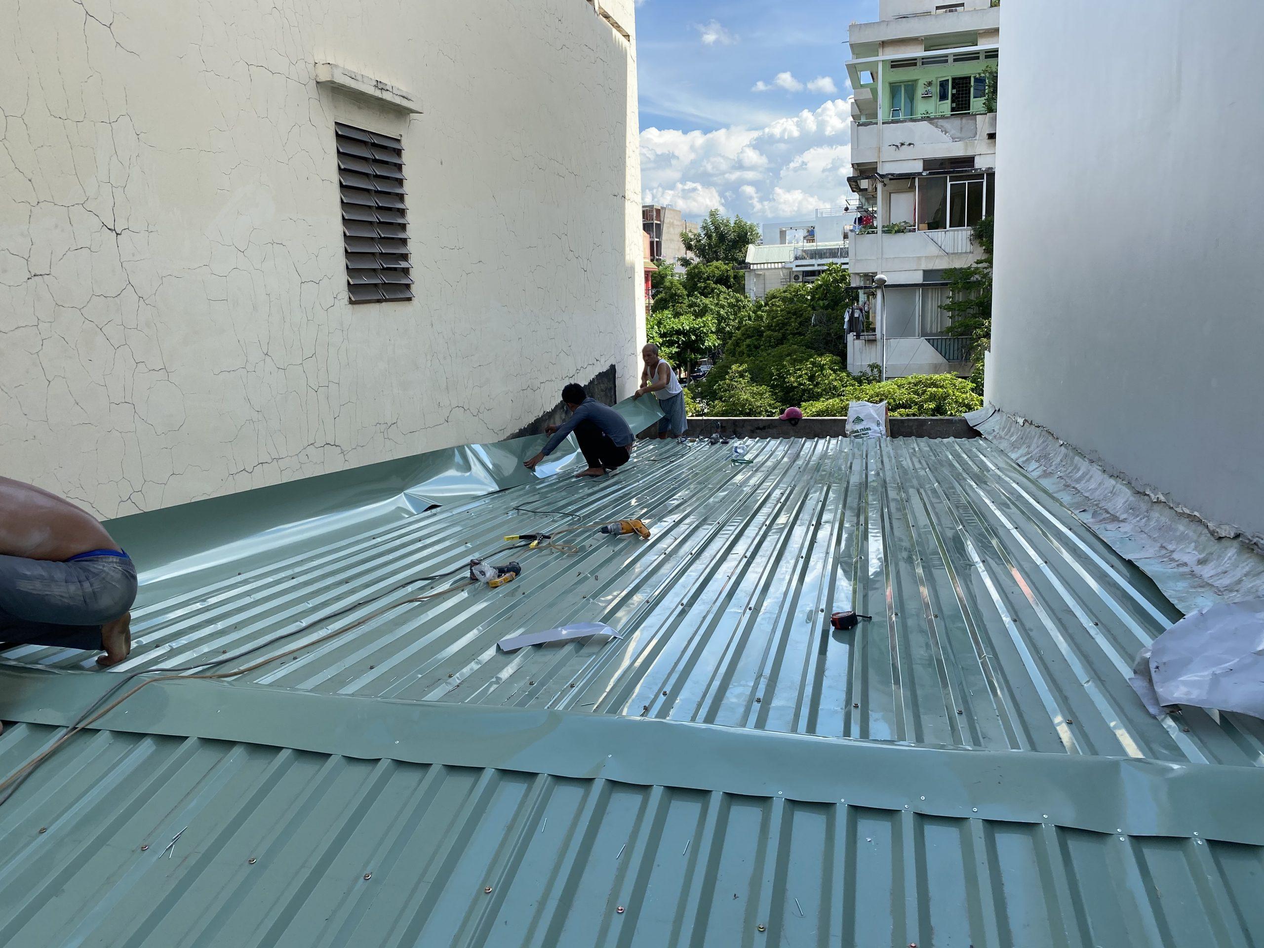 Thi công lắp đặt mái tôn mái ngói cho ngôi nhà của bạn