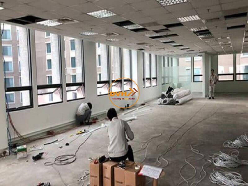 Thiết kế sửa chữa văn phòng tại quận 9 chuyên nghiệp