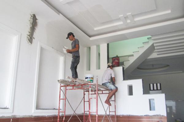 Dịch vụ sơn sửa lại nhà trọn gói giá rẻ chuyên nghiệp