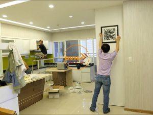 Thiết kế thi công tủ bếp, đồ nội thất căn hộ