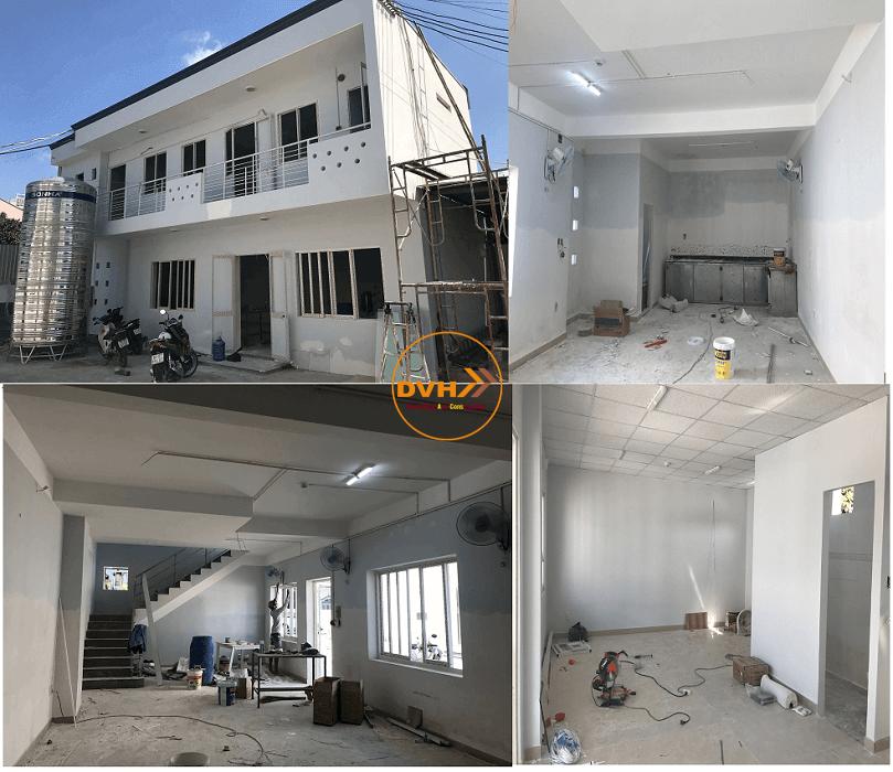 Dịch vụ sơn nhà, cải tạo nâng cấp lại nhà trụ sở văn phòng làm việc