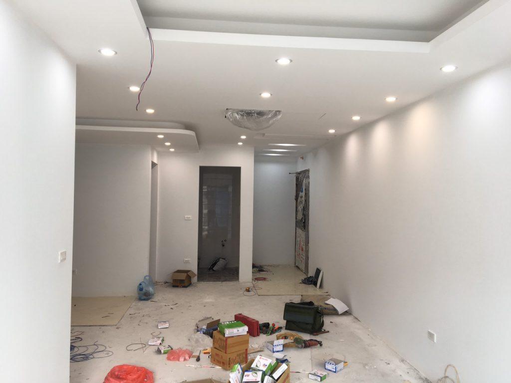 Thợ sơn sửa lại căn hộ chung cư giá rẻ chất lượng