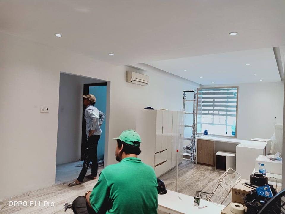 Sơn sửa lại căn hộ chung cư chuyên nghiệp