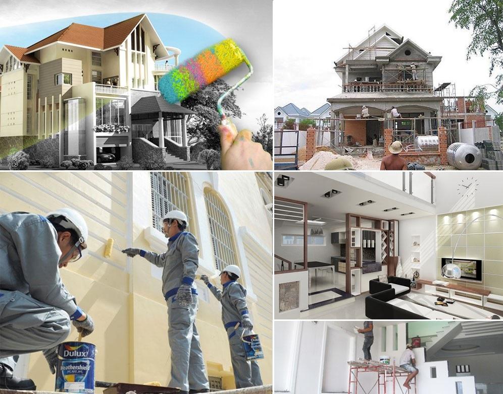 Dịch vụ sửa  nhà trọn gói tại tphcm