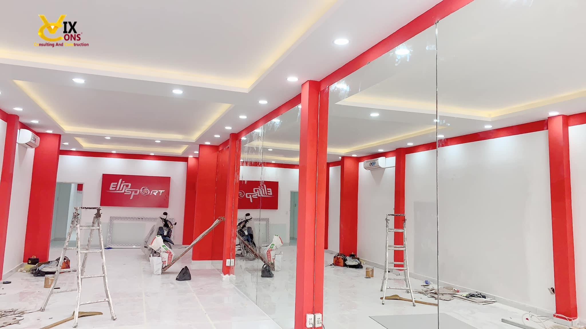 Sửa shop cửa hàng showroom