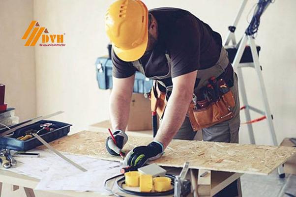 lựa chọn thợ sửa chữa nhà tại Bình Dương có tay nghề ra sao