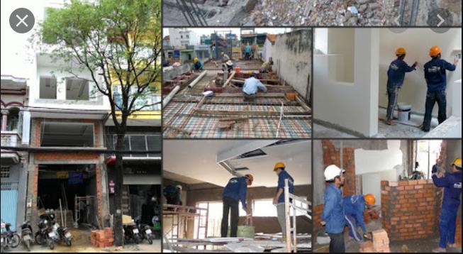 Dịch vụ sửa nhà tại Hóc Môn