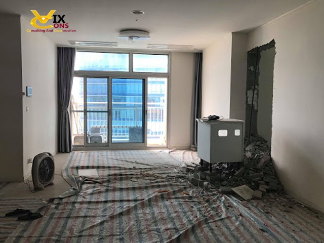 Thiết kế tân trang lại căn hộ chung cư