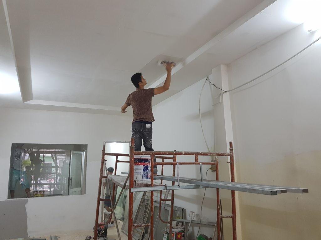 Đội sơn nhà chuyên nghiệp