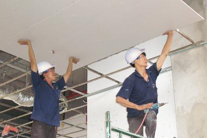 Quy trình của thợ sửa chữa nhà tại quận 12