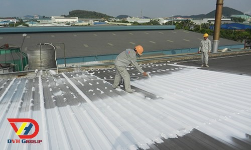 Sơn chống nóng mái tôn giá rẻ