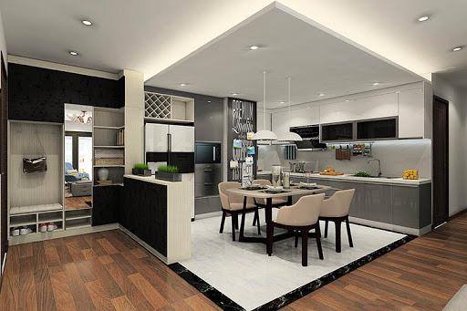 Thiết kế sửa chưã không gian bếp nấu