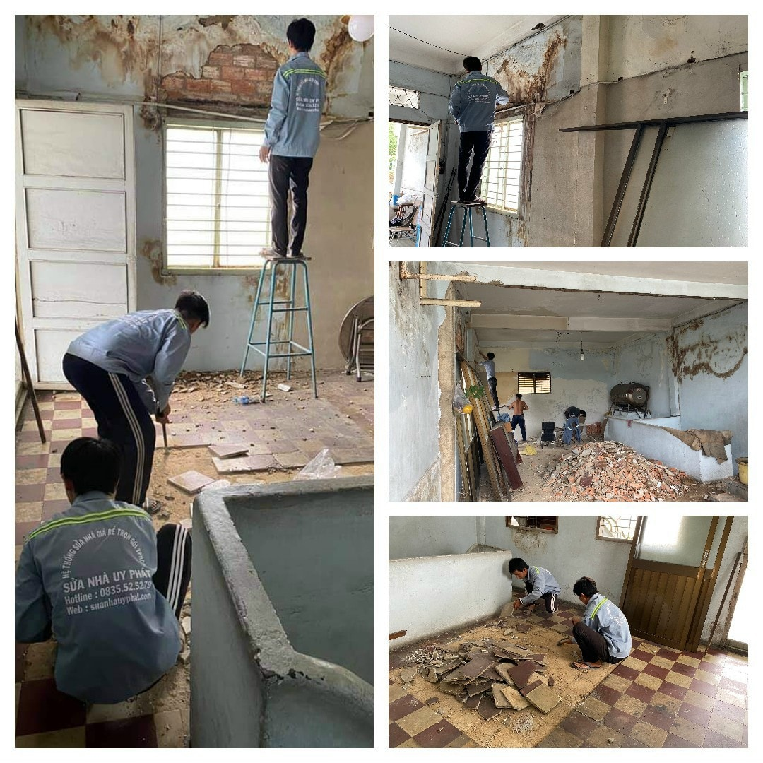 Công ty sửa nhà tại Quận Tân Bình
