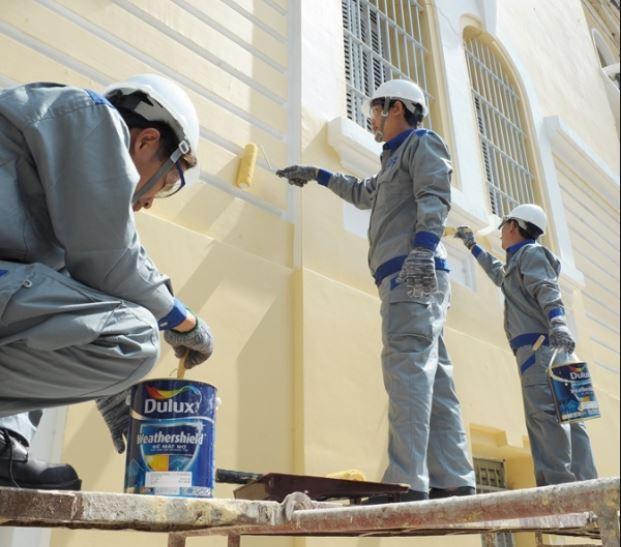 Dịch vụ sơn nhà giá rẻ của công ty chúng tôi