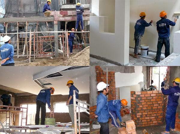 Dịch vụ sửa nhà tại TP Thủ Dầu Một
