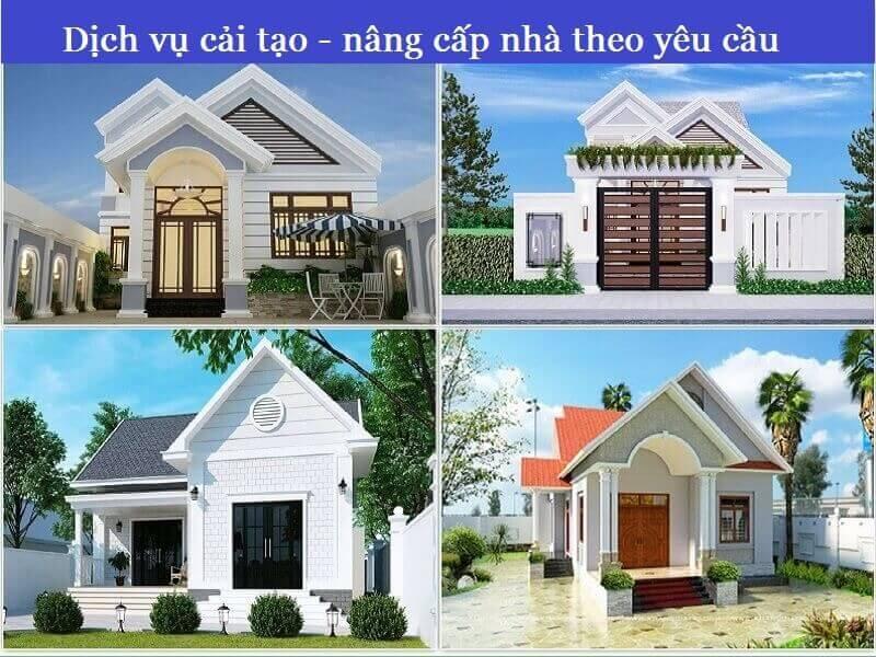Dịch vụ nâng cấp - cải tạo nhà theo yêu cầu