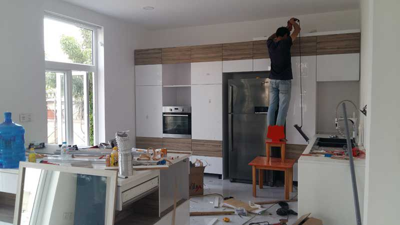 Công ty sửa nhà tại Quận Thủ Đức - Nhận thiết kế phòng bếp, phòng khách, theo ý tưởng của gia chủ
