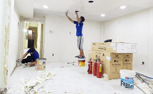 Dịch vụ sơn sửa lại căn hộ chung cư