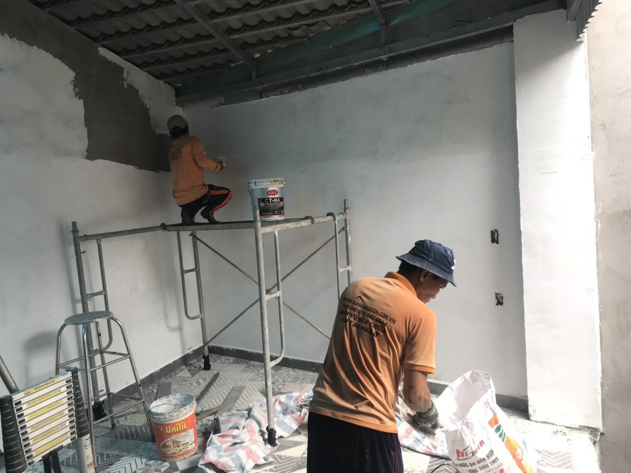 Công ty sửa nhà tại Long An - Chúng tôi chuyên nhận chống dột, chống nứt công trình, chống thấm hiệu quả