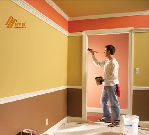 Lựa chọn được màu sơn, loại sơn phù hợp giúp mang lại không gian sống hiện đại, an toàn