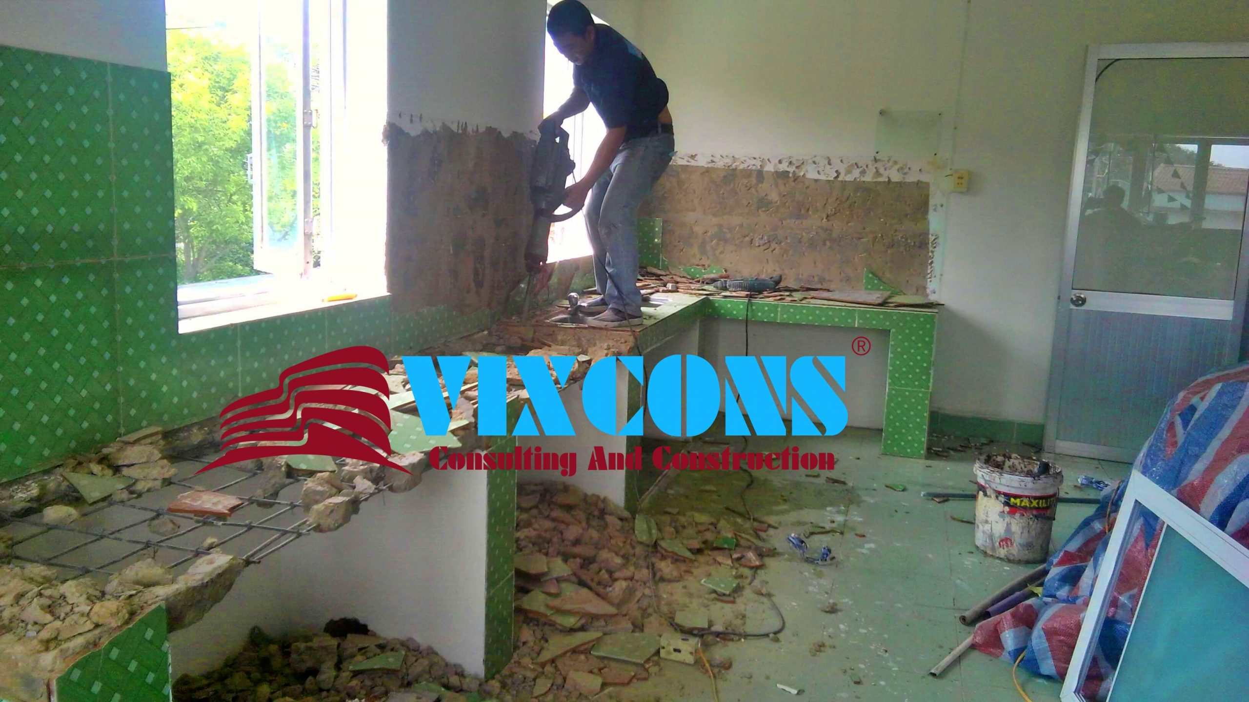 Báo giá sửa chữa nhà tại Quận 5 - Chúng tôi nhận sửa chữa tất cả các hạng mục theo yêu cầu của quý khách hàng