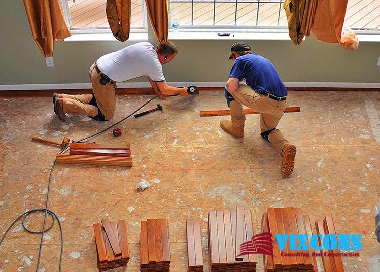 Chúng tôi nhận lắp sàn gỗ, thay thế chất lượng, giá cả phải chăng