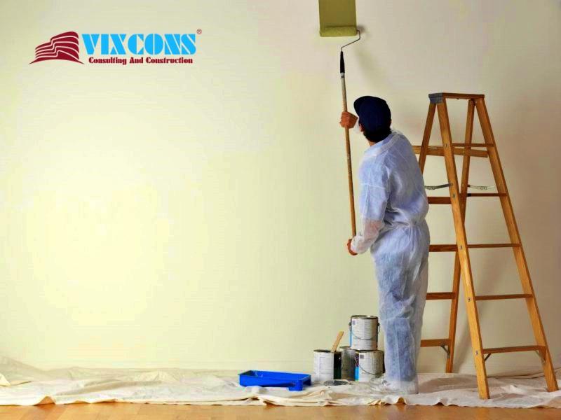 Chúng tôi nhận sơn nhà trọn gói, sơn từng hạng mục theo yêu cầu của quý khách hàng