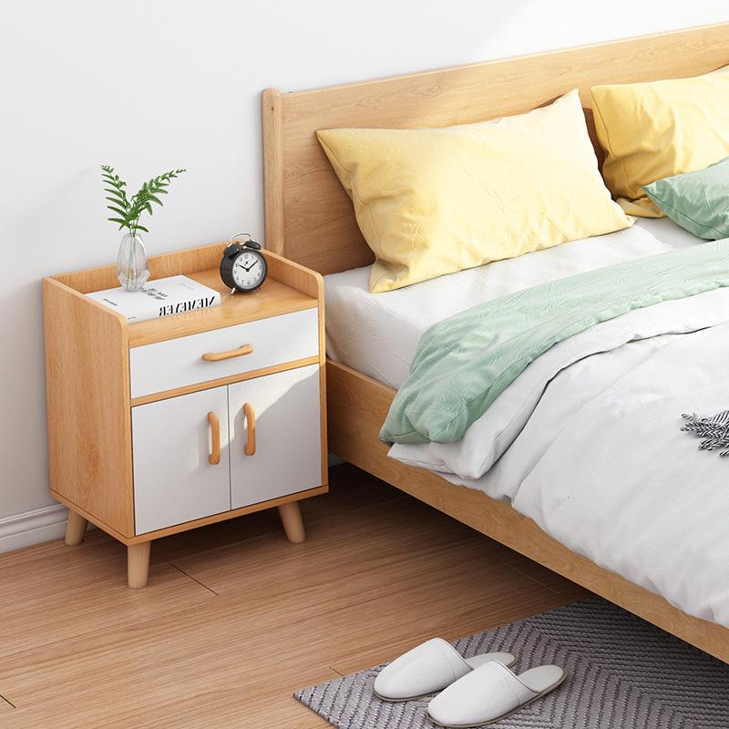 Tủ đầu giường phong cách mở