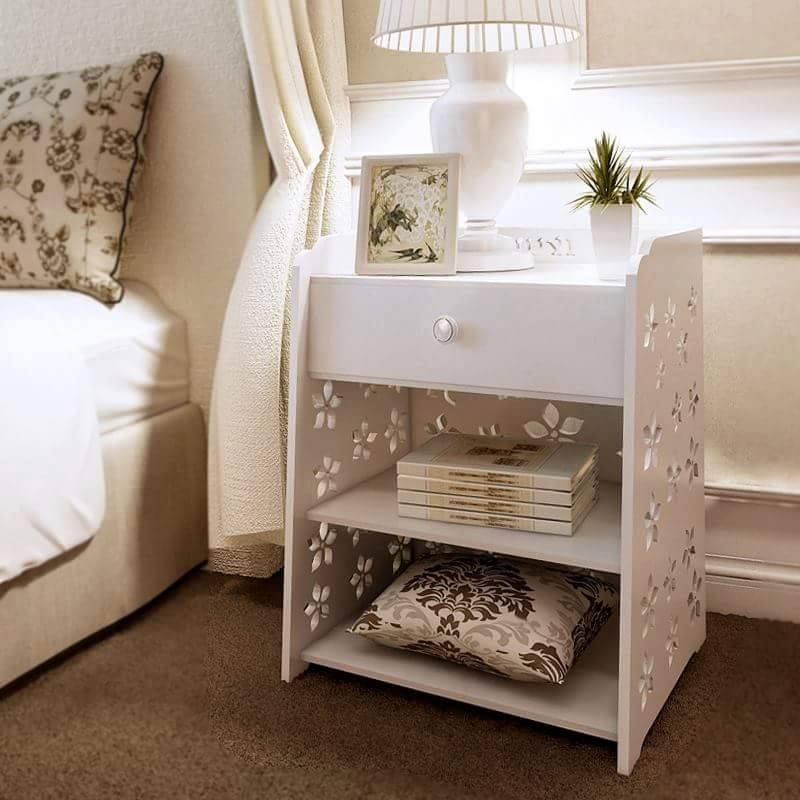 Tủ Đầu Giường Được Tạo Kiểu CNC